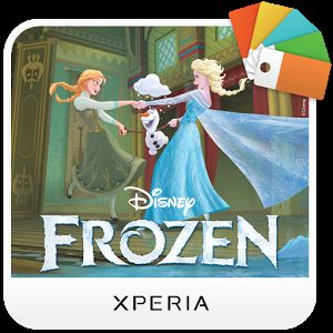 XPERIA™ Frozen Dancing Theme