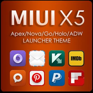 MIUI X5 HD Apex/Nova/ADW Theme
