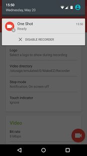 One Shot screen recorder (PRO)